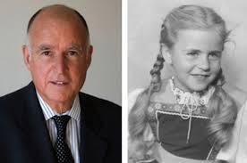 governor jerry brown and mary dispenza age seven