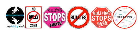 stop bullying icons