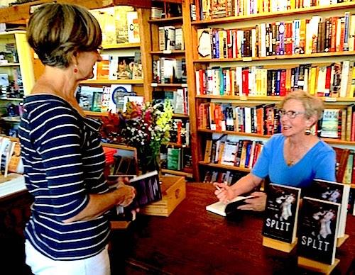 mary dispenza signing at Island Books, Mercer Island