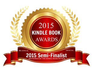Semi-finalist badge for 2015 Kindle Book Awards