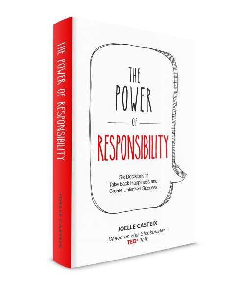 cover of the power of responsibility a guide to happiness and success by joelle casteix