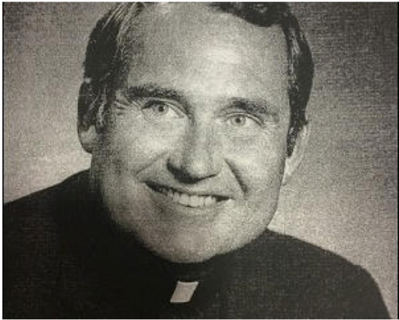 father michael cody, smiling